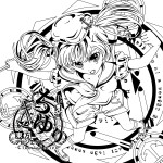 「東方Project『北白河ちゆり(PC-98版)』」コルクコースター 2015/あぶそるーと (C)上海アリス幻樂団