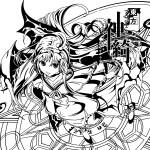 「東方Project『神綺(PC-98版)』」コルクコースター 2014/あぶそるーと (C)上海アリス幻樂団